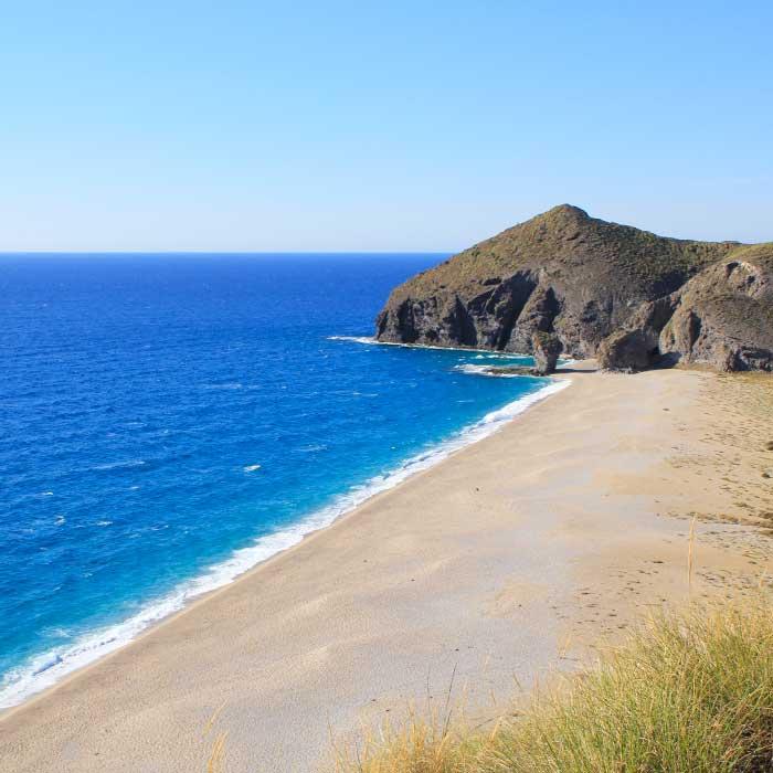 Playa De Los Muertos Cabo De Gata Parque Natural En Almería