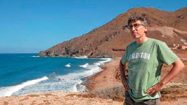 David Trueba rueda en Cabo de Gata