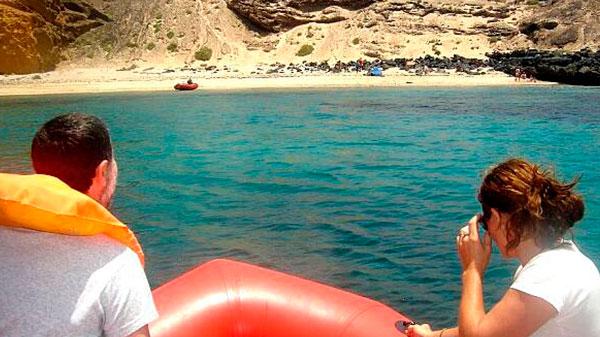 Paseo en Zodiac por Cabo de Gata