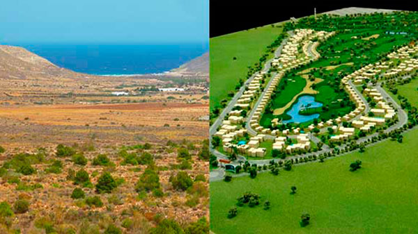 Campo de Golf en Cabo de Gata