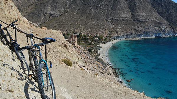 Propuesta de carril bici entre Cabo de Gata y las Salinas