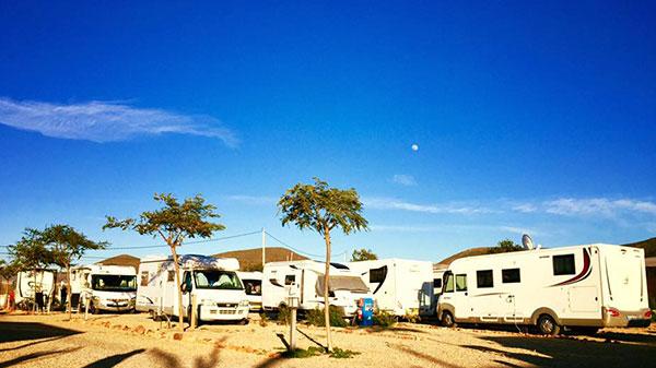 Caravanas en Cabo de Gata