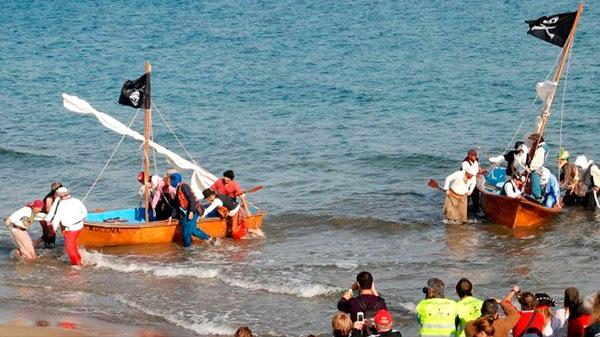 Desembarco Pirata en San José