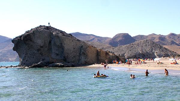 8 Medidas para prevenir los ahogamientos en las playas del Parque Natural Cabo de Gata-Níjar