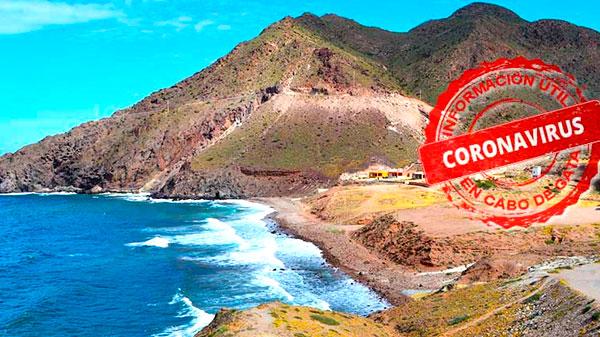 Información sobre el Coronavirus en Cabo de Gata (actualizado 15/07/2020)